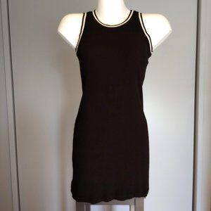 Mossimo black knit/spandex dress